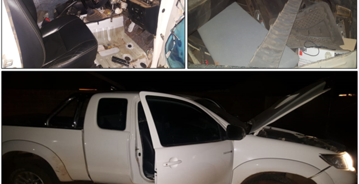 Recovered Toyota Hilux